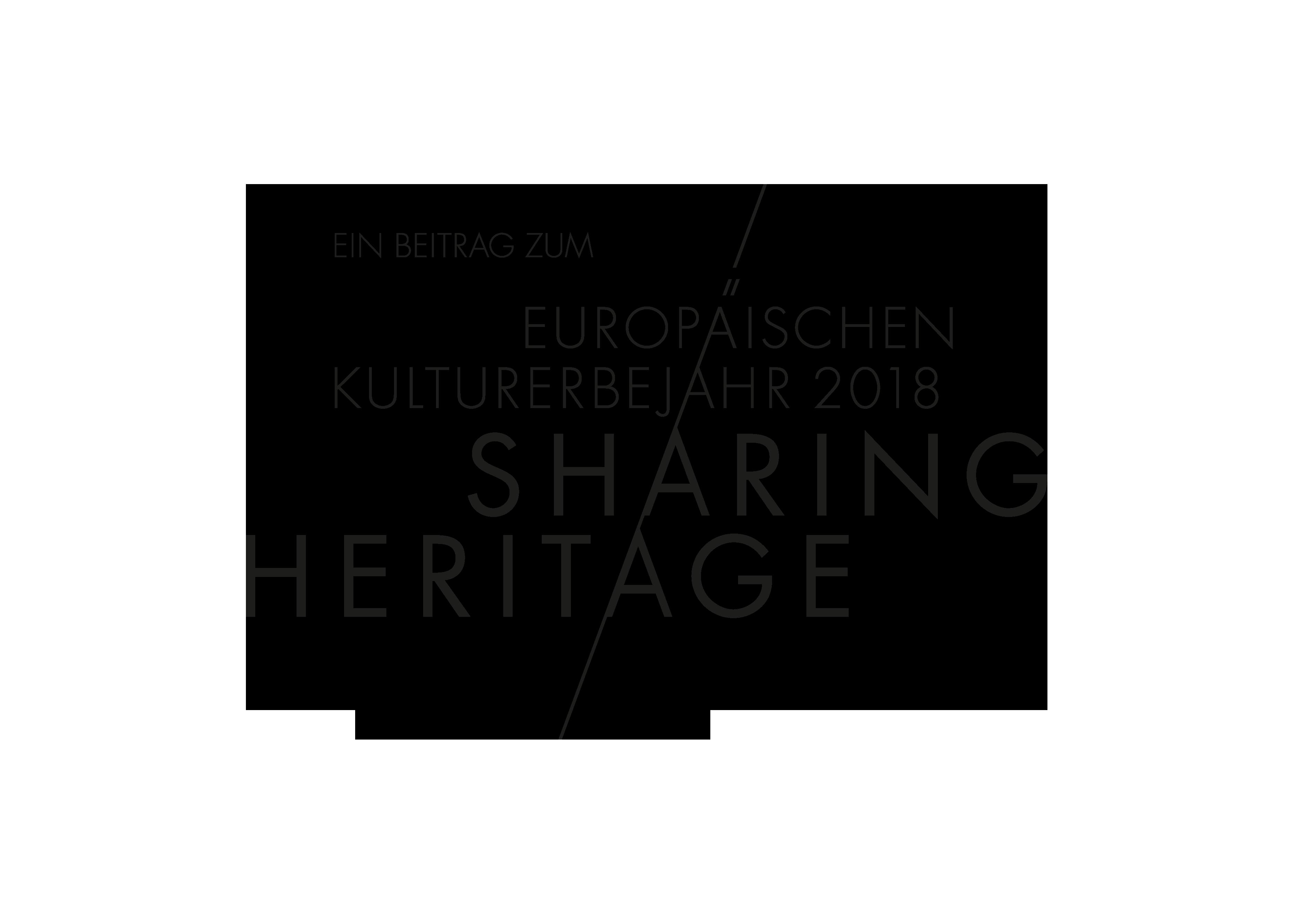 European Heritage Year 2018 SHARING HERITAGE